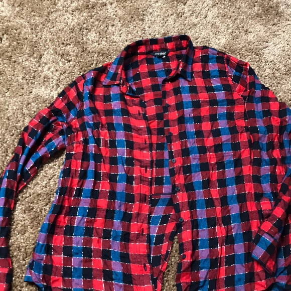 ca46ff55 Lucky Brand Tops - Women's Lucky Brand button down flannel top